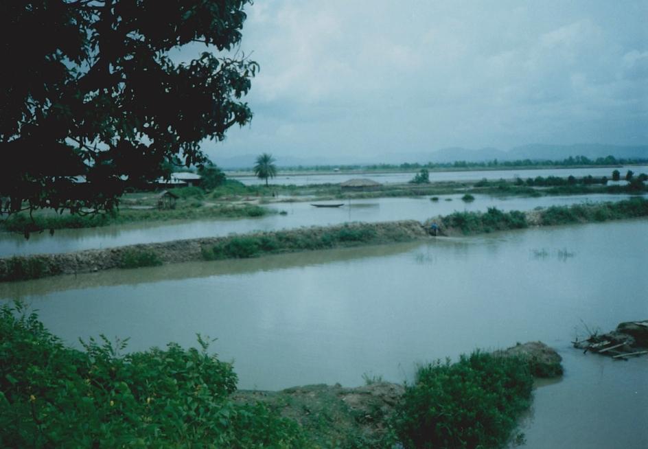 Countryside near Teknaf, Bangladesh