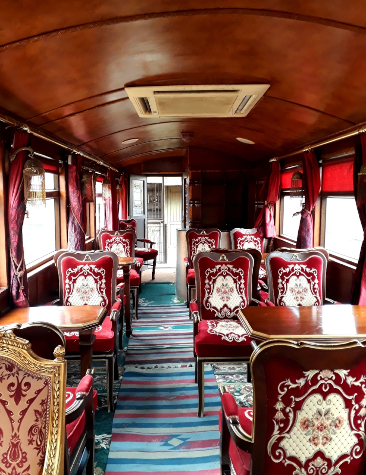 A luxurious way to travel through Jordan back in the day