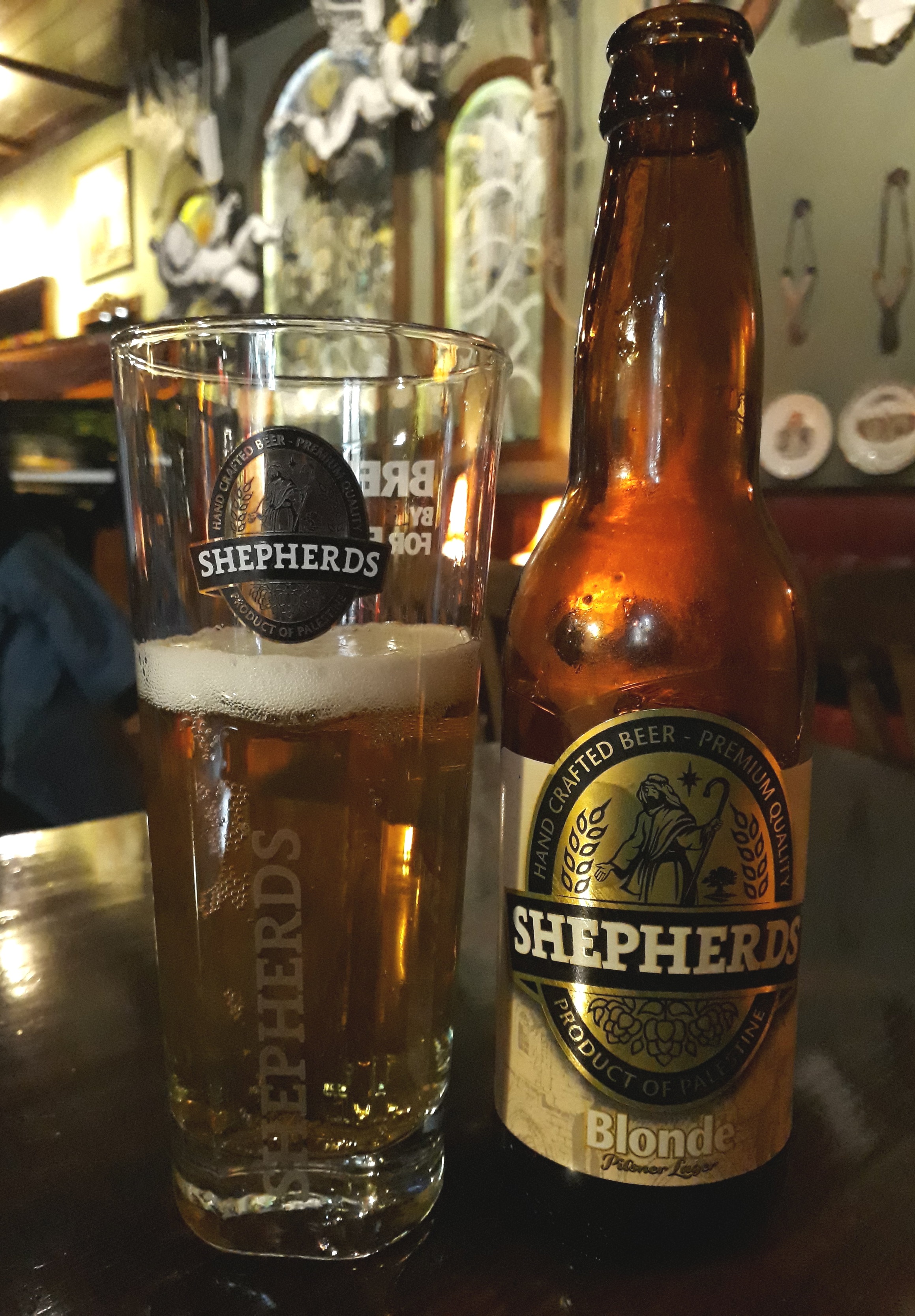 craft beer in bethlehem palestine