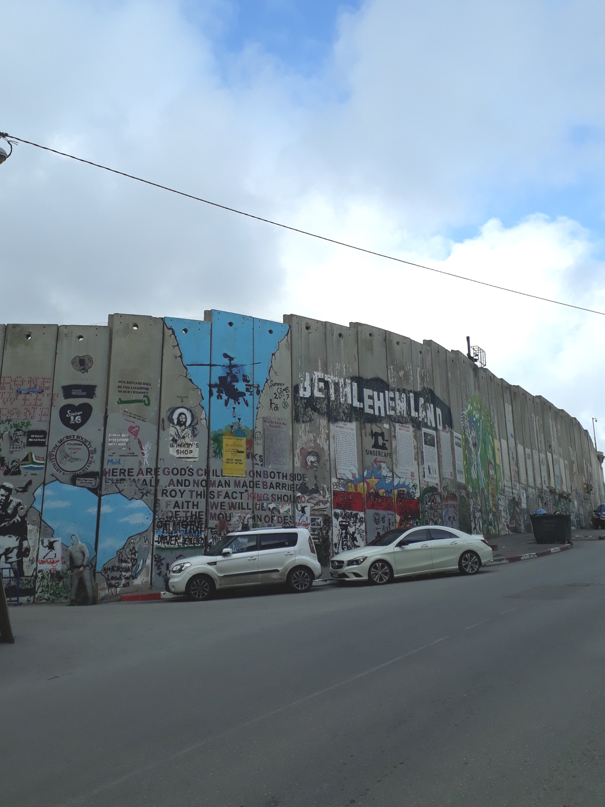 Welcome to Palestine and the wall that surrounds it