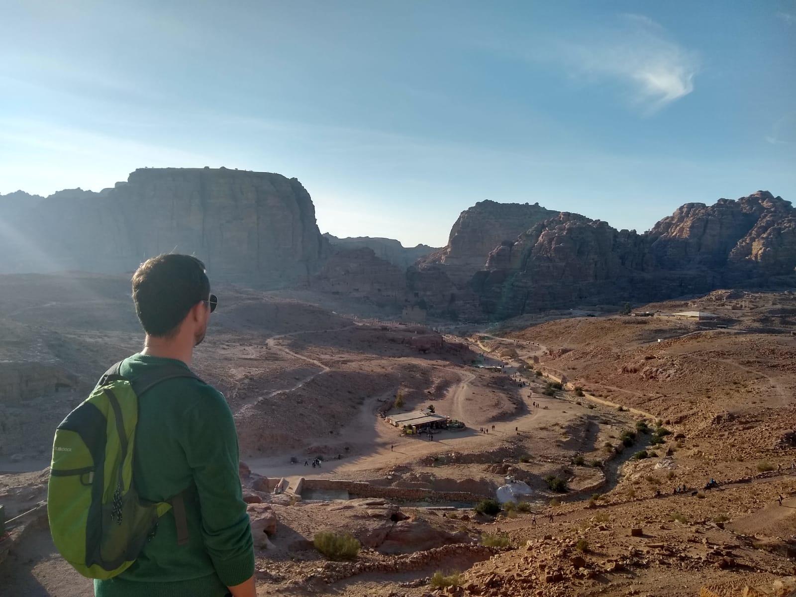 Overlooking Petra