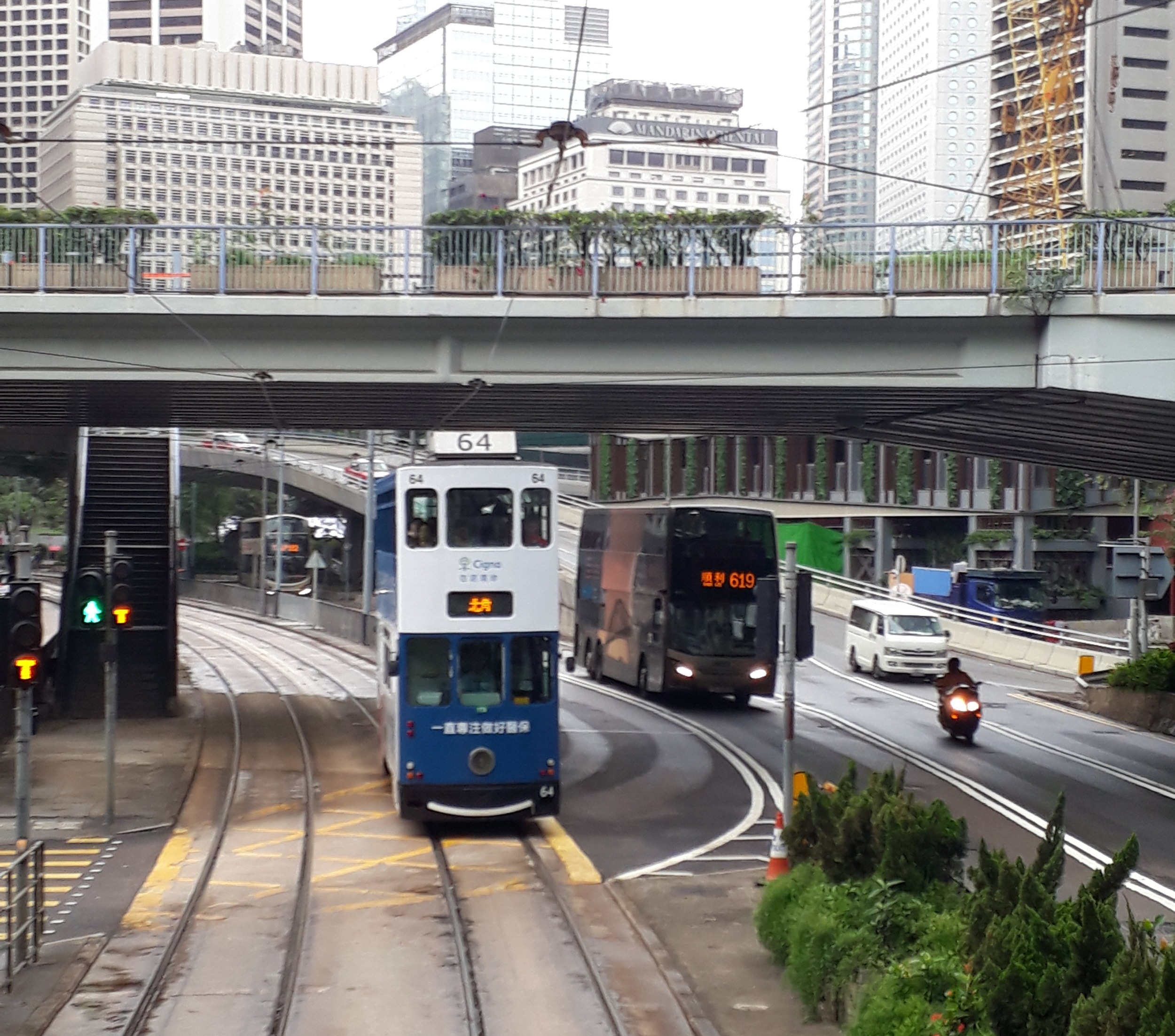 There are lots of ways to travel around Hong Kong!