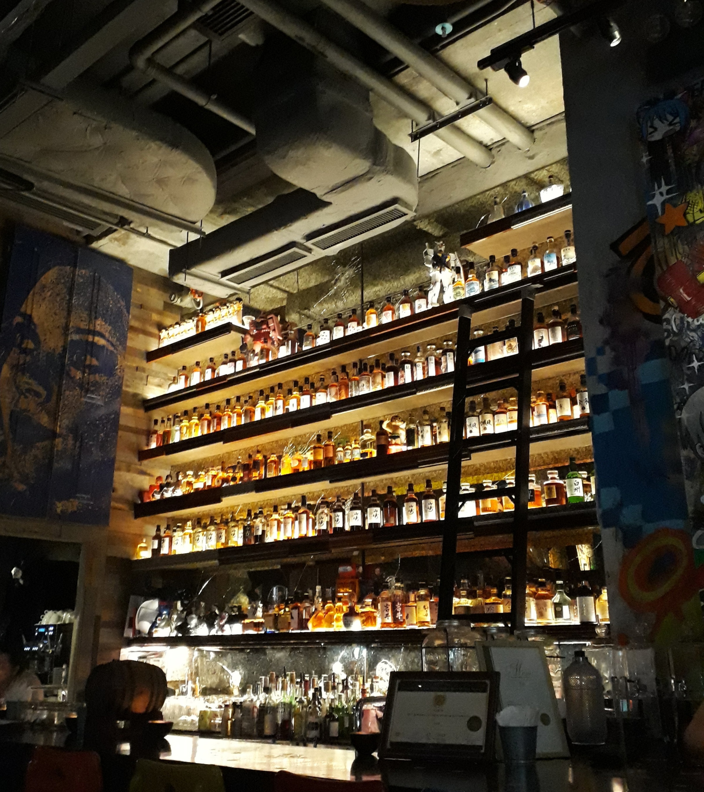 That's all Japanese Whiskey!