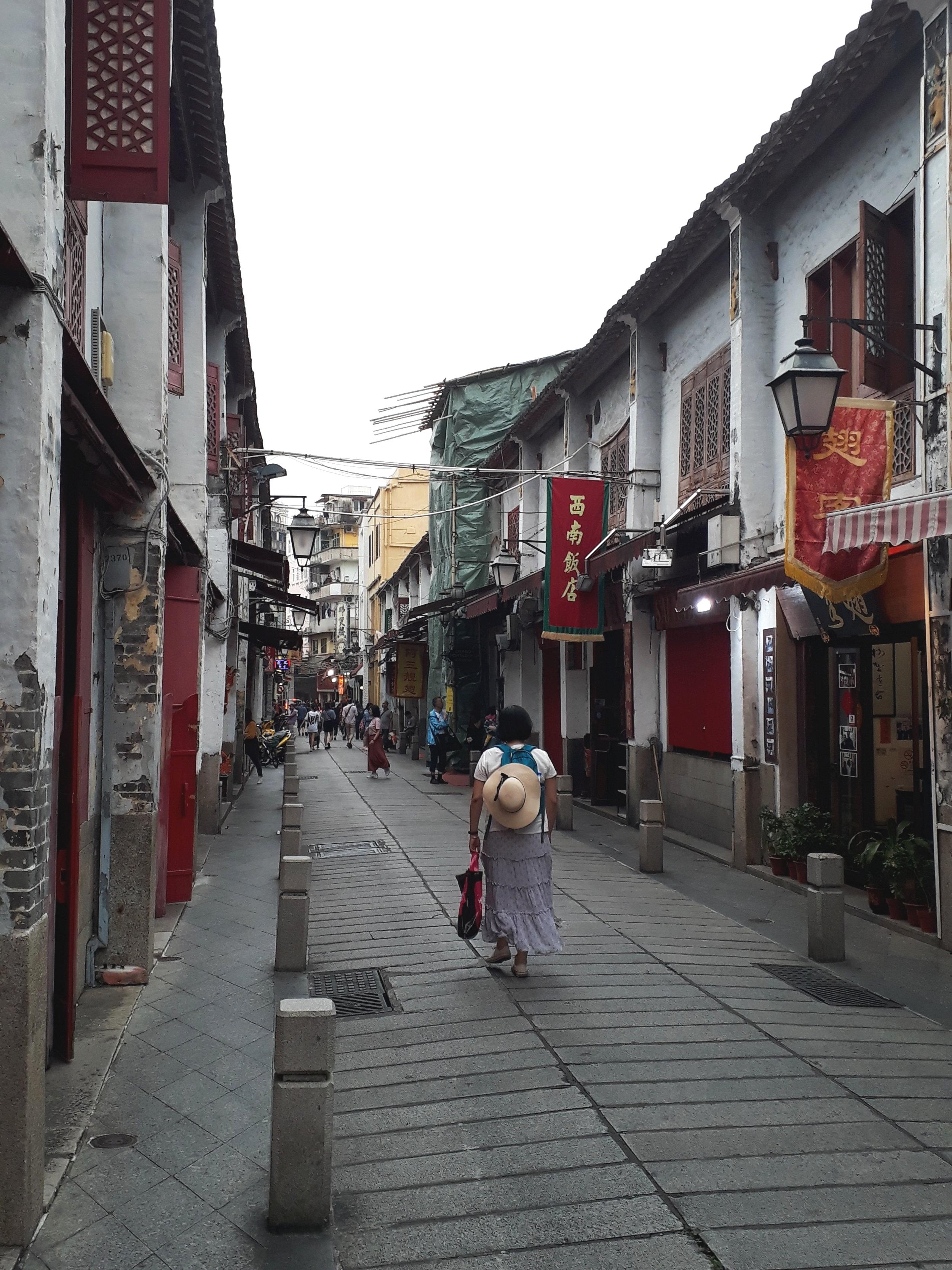 Rue da Felicidade Macau