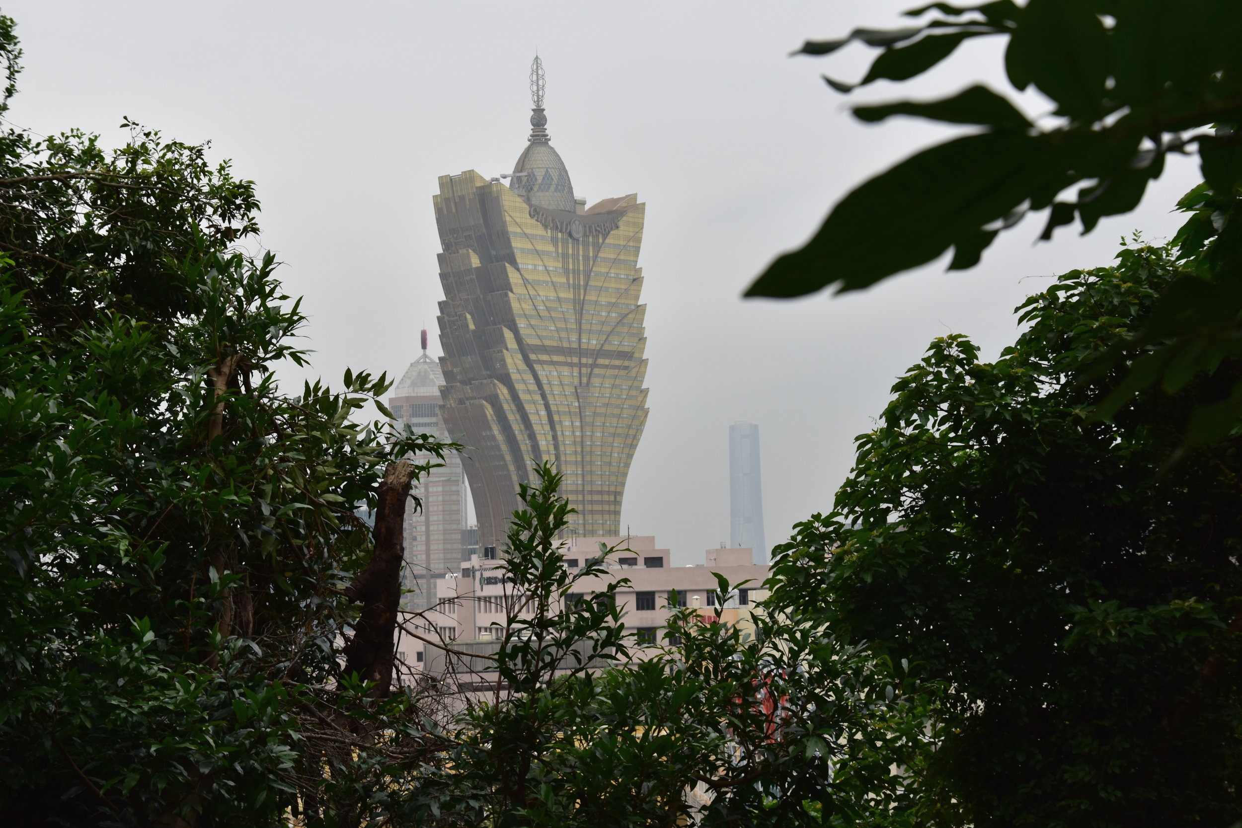 The Grand Lisboa Macau