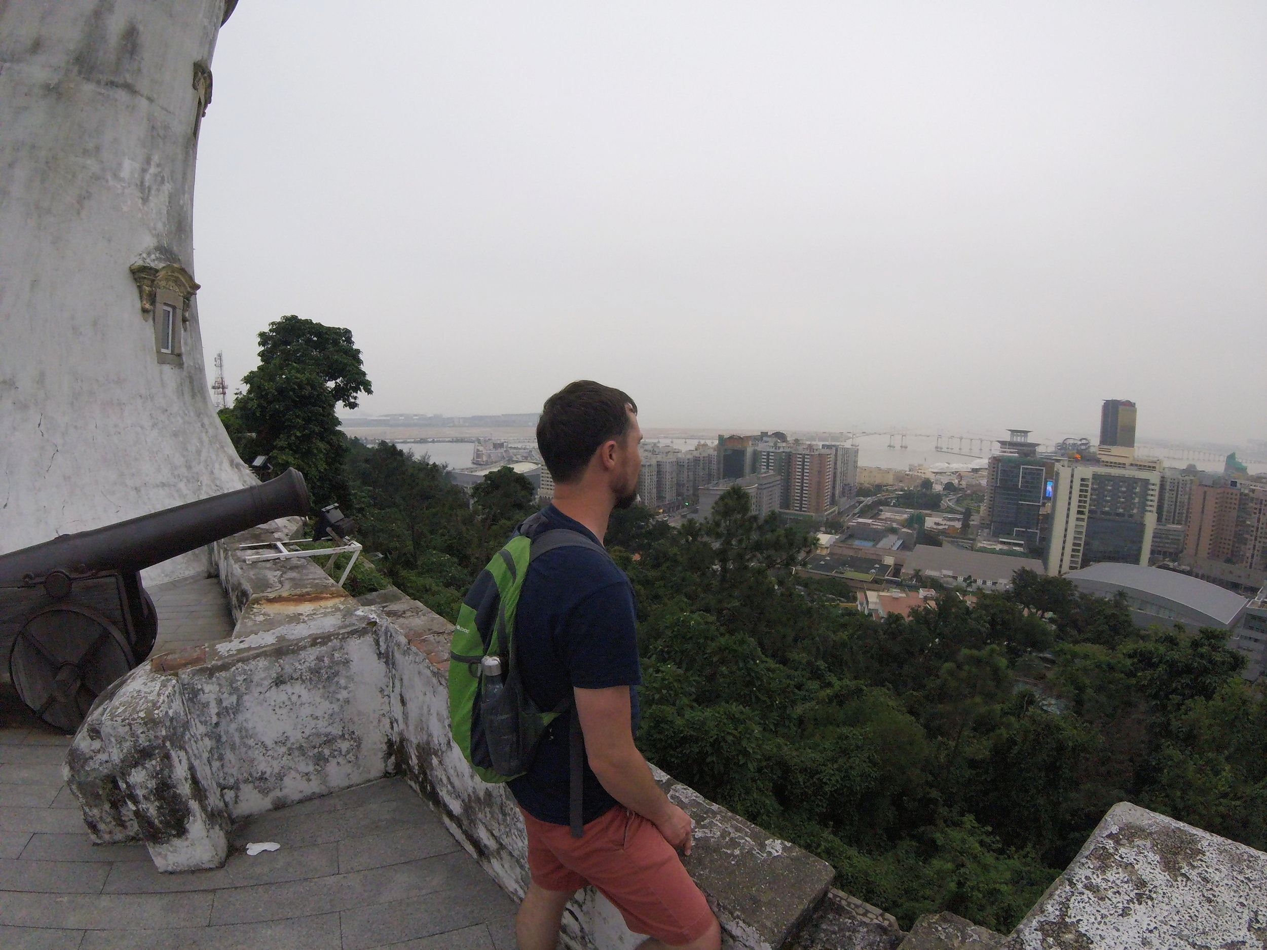 Guia Lighthouse provides sweeping view over Macau