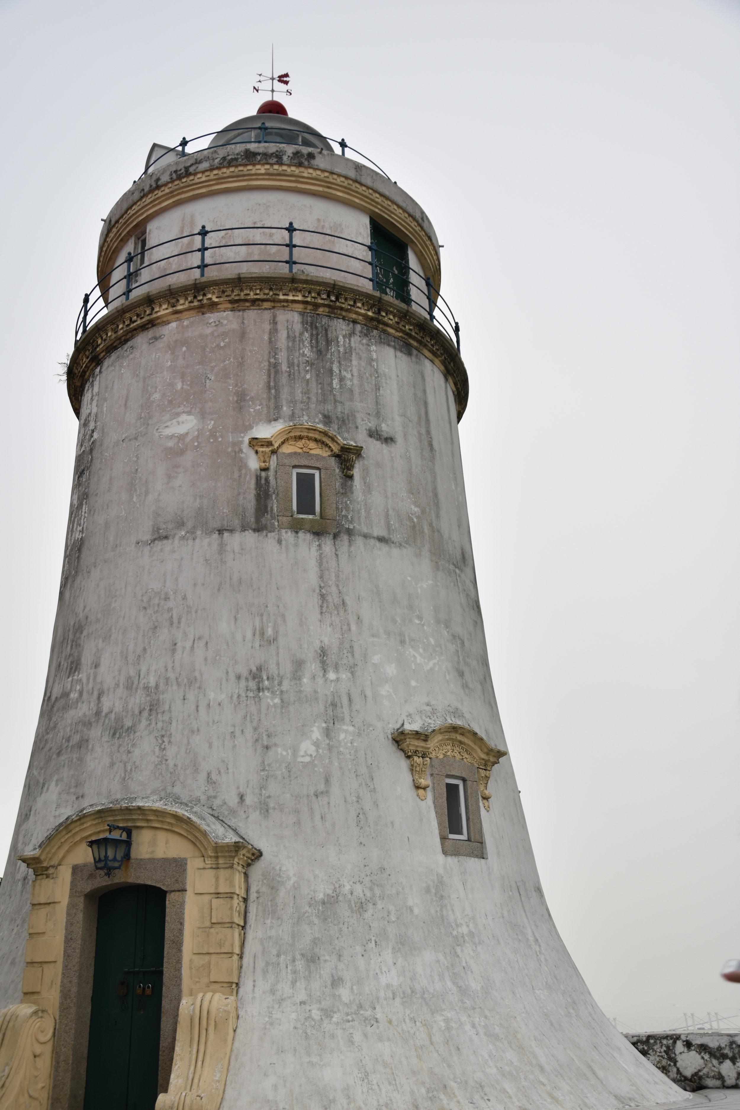Guia Lighthouse towers over Macau