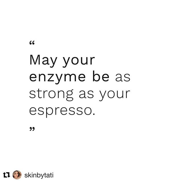 ☕️ We hope that you get that kickstart you're looking for today to accomplish every task at hand! After that don't forget book your enzyme treatment with us which maintains and works on the internal health of your skin allowing you to put your best face forward . . . #coffee #dmkenzyme #espresso #enzyme #glowingskin #healthy #strong #conquertheday #energy #dmkskinrevision #tasklist #goals #bestfaceforward #aesthetician #jacksonville #RBAspa #letsglow