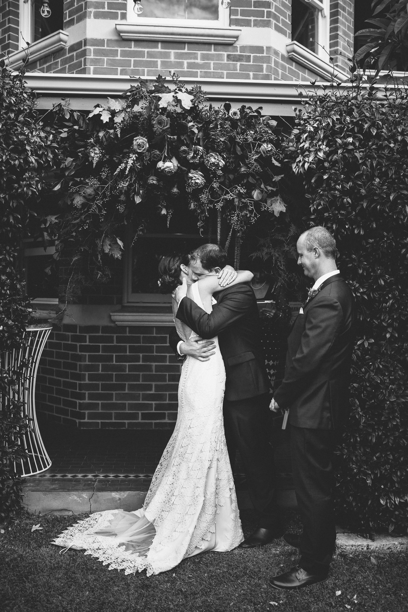 Bride: Kristen | Gown: Bespoke Couture Gown | Photographer: We Are All Stardust