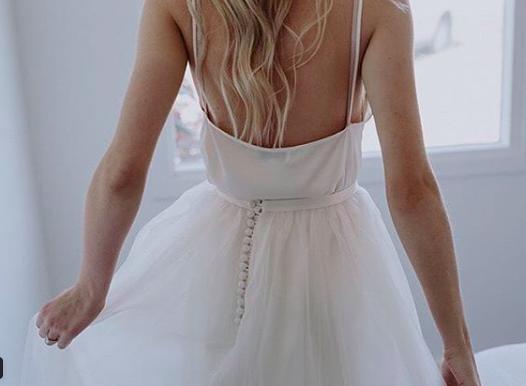 Bride: Taylah | Gown: Bespoke Skirt | Photographer: Varga Murphy