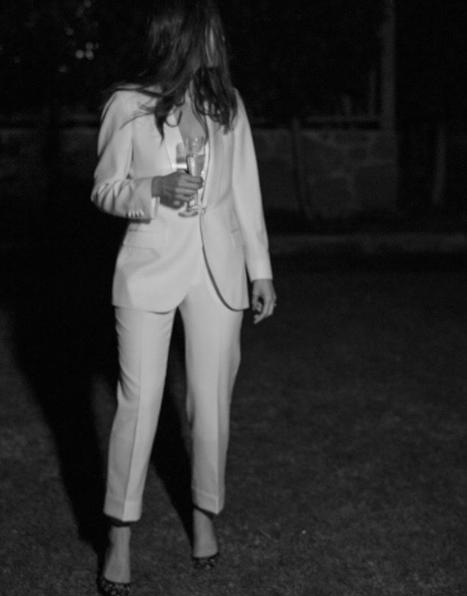 Bride: Harriette | Harriette Gordon x Edward McCann Bespoke Suit | Photographer: Katie Grant