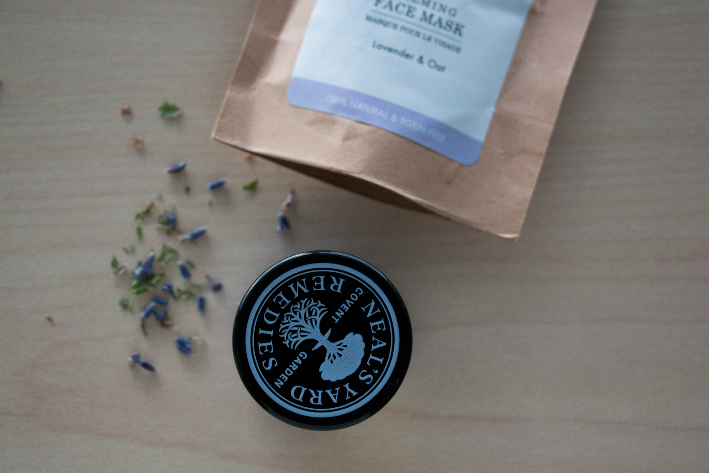 Neal's Yard Remedies White Tea Facial Mask & Rocky Mountain Soap Calming Face Mask