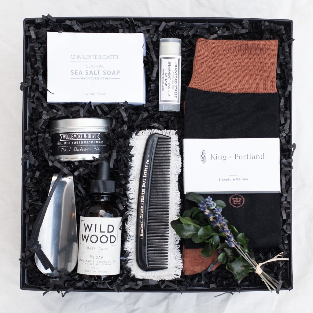 Photo Credit:  Present Day Gifts  Gentleman's Grooming Kit