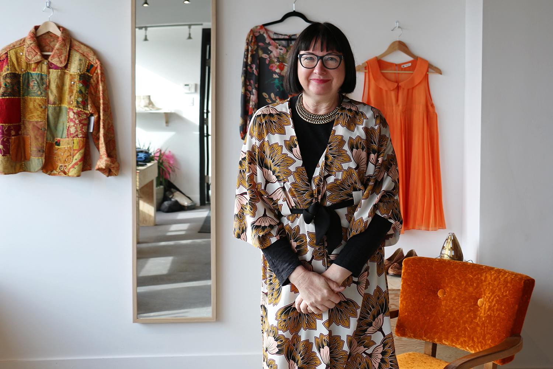 Myra, Owner of Velour Clothing Exchange