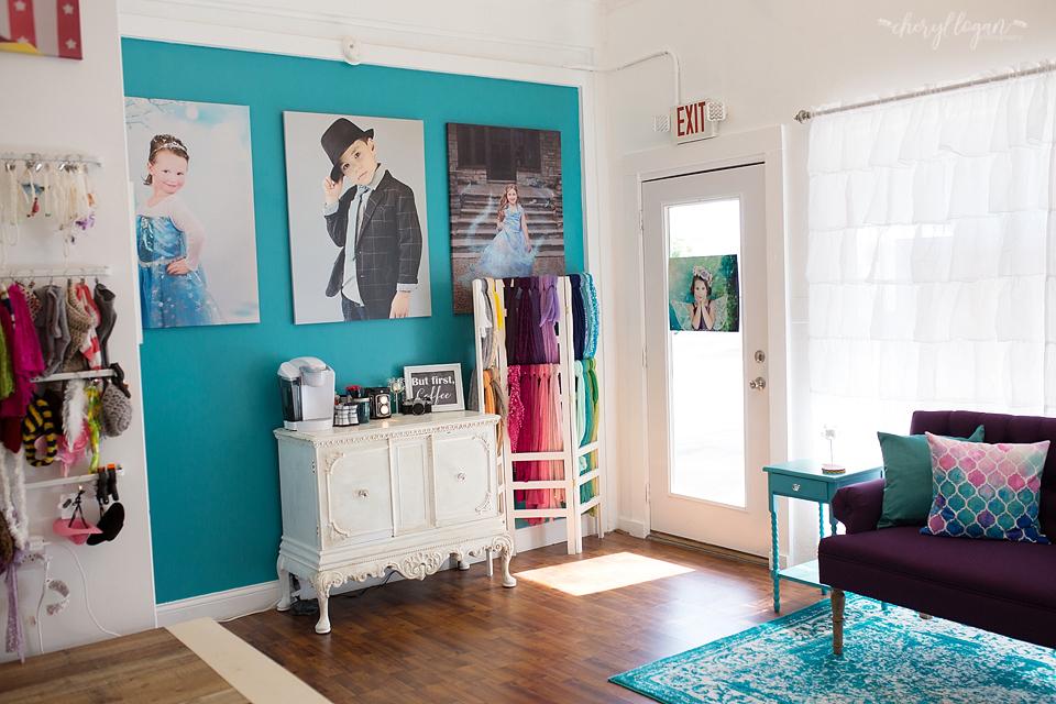 Studio Entrance Cheryl Logan Photography