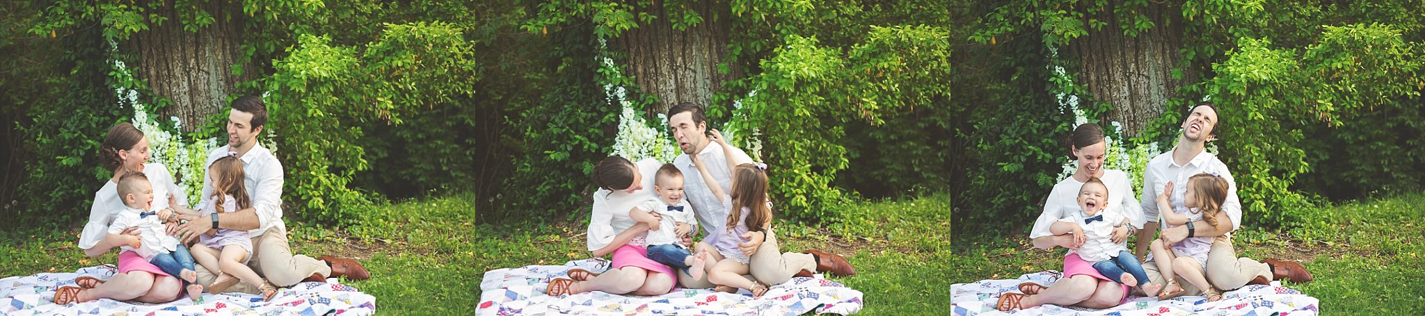 Candid Family Portraits with Cheryl Logan Photography