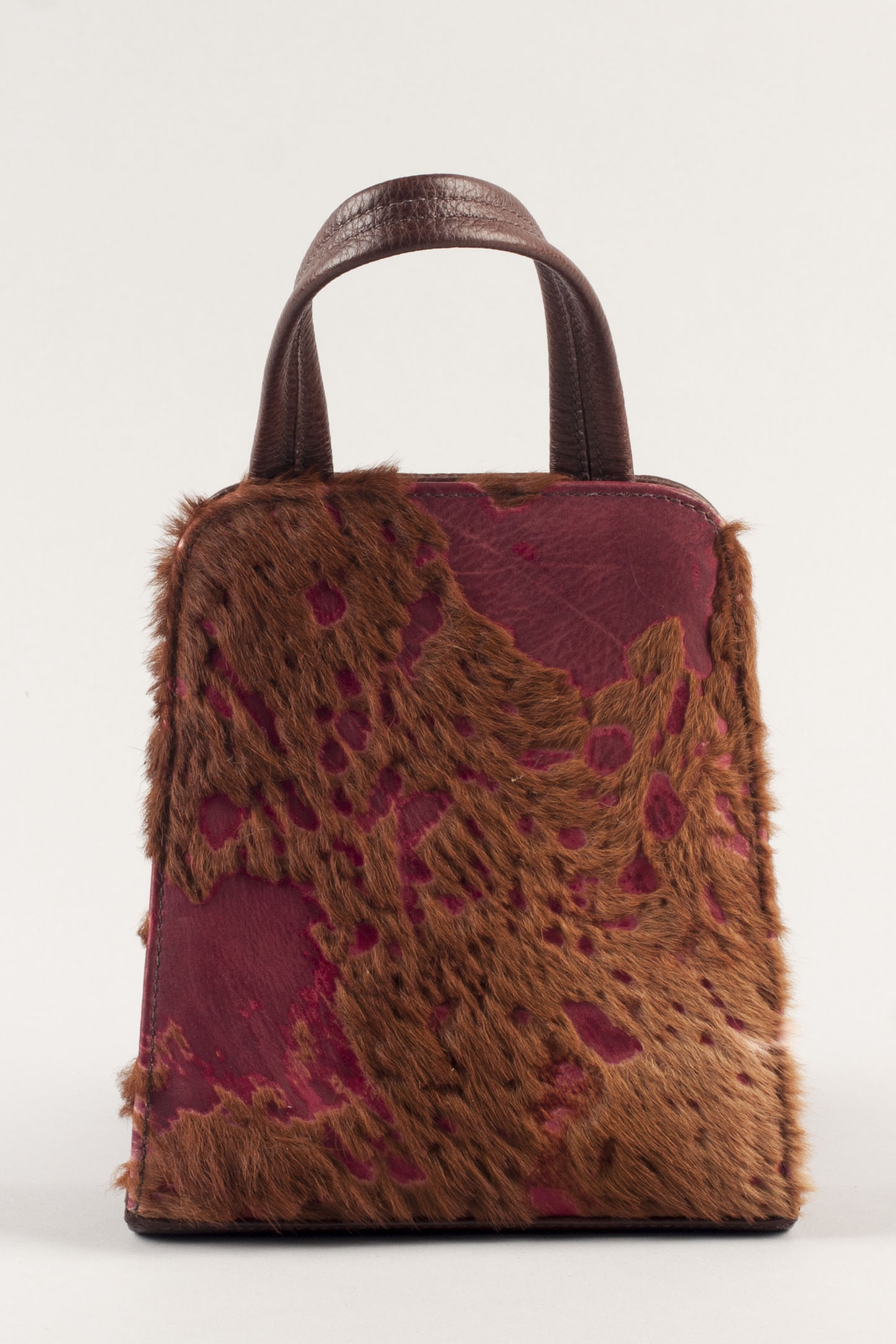 Jackson Day Bag - Burgundy/Mahogany