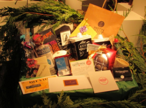 JAMES STREET NORTH WINDOW DISPLAY COMPETITION: GRAND PRIZE GIFT BASKET COURTESY OF PARTICIPATING MERCHANTS ON JAMES ST. N., HAMILTON - DRAW: SAT. DEC. 19th, 2015
