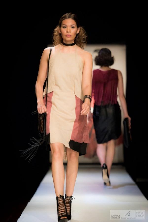 Model: Lauren King