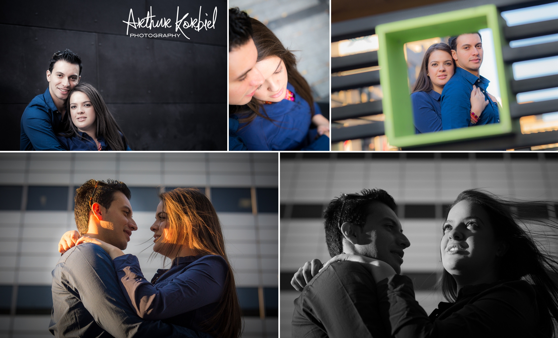 Arthur Korbiel Photography - London Engagement Photographer - Downtown London - Maria & Jose_003.jpg