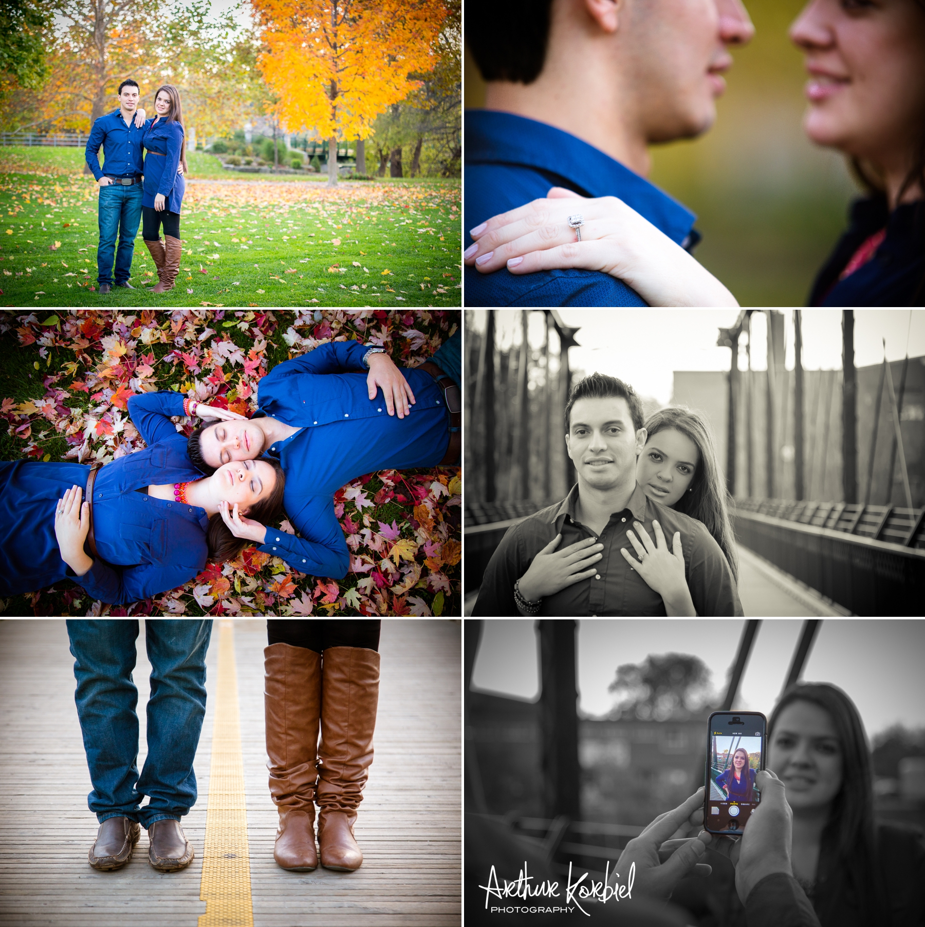 Arthur Korbiel Photography - London Engagement Photographer - Downtown London - Maria & Jose_005.jpg