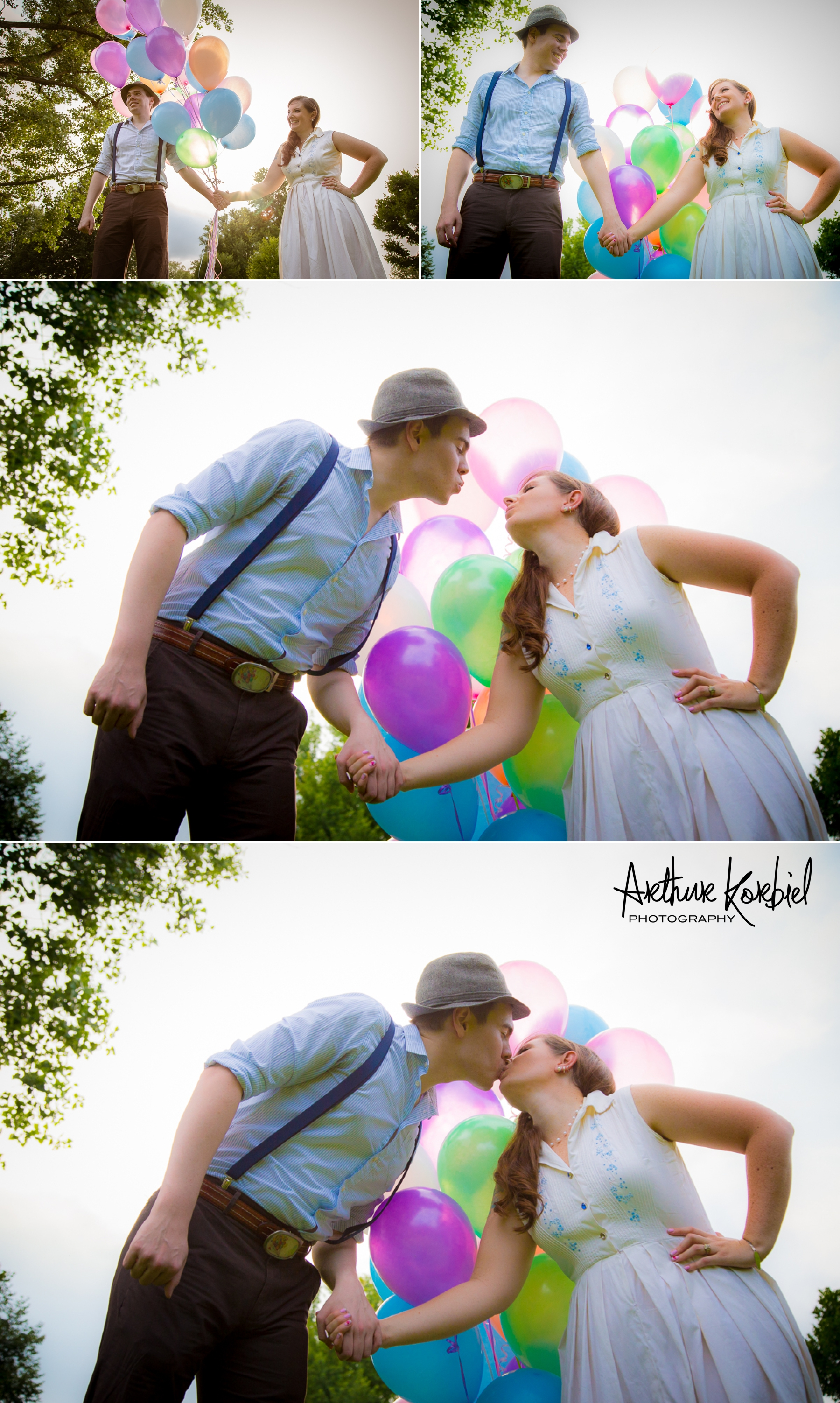 Arthur Korbiel Photography - London Engagement Wedding Photographer - Vintage - Bag Lady Variety - Gibbons Park_013.jpg