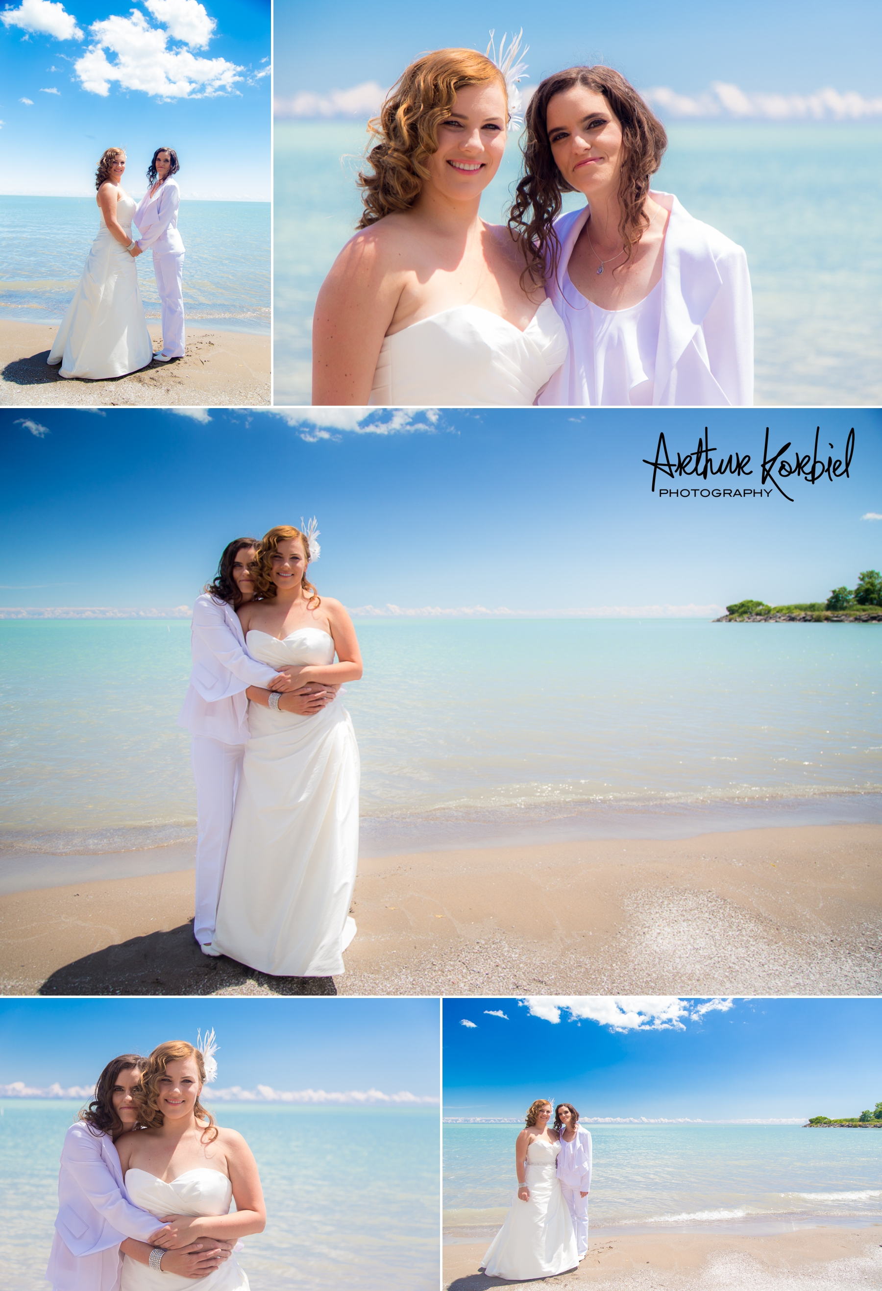 Same-Sex Wedding - Kettle Creek Golf Club - Port Stanley Beach - Arthur Korbiel Photography - London Wedding Photographer_005.jpg