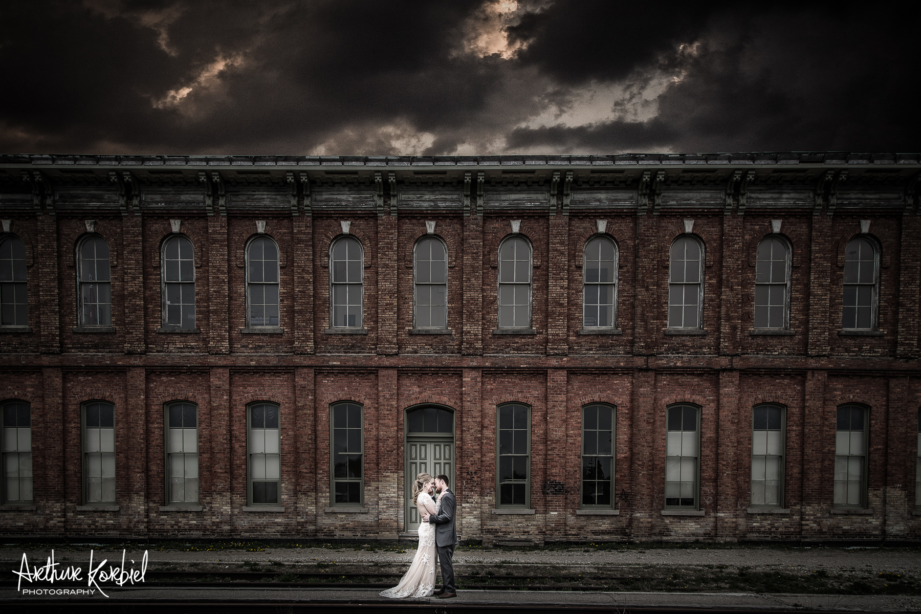Arthur Korbiel Photography - London Wedding Photographer - CASO Train Station - St Thomas - Signature.jpg