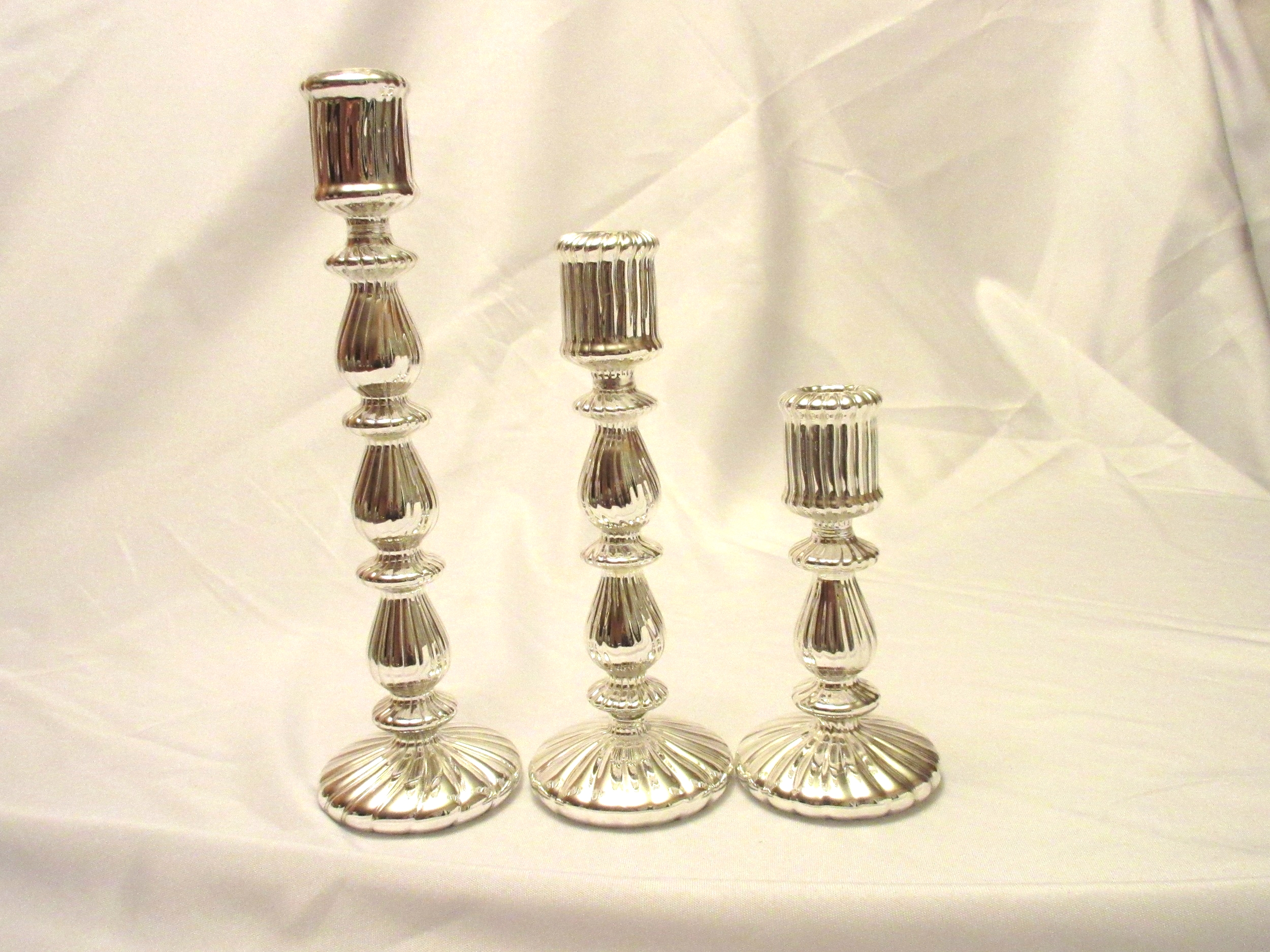 Mercury Glass Candleholders Candlesticks .jpg