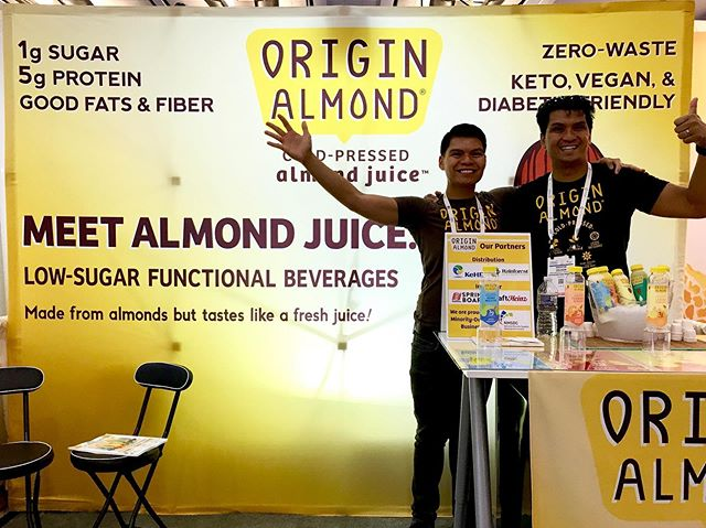 It's a wrap at @natprodexpo East! Thanks to all who visited our humble yellow booth and chatted with my brother and I. Hoping and working towards some big next steps!