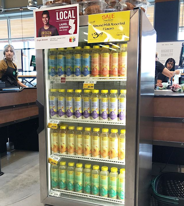 Much ❤️ and thanks to @wholefoods for supporting local startups like us with these gorgeous displays. Our refreshed labels and new Hemp Mojito are looking mighty fine at Springhouse, PA! 👀👀👀