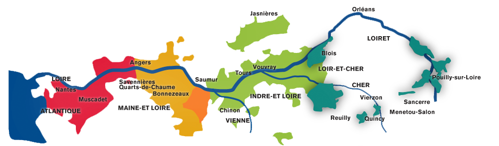 Loire valley wine in detail