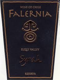 Falernia Syrah Reserva, Elqui Valley, 2011