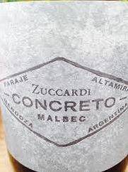 Zuccardi, Concreto Malbec 2014, Paraje Altamira, Mendoza