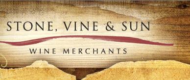 stone, wine & sun logo