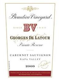 Beaulieu Vineayrd Georges De Latour private reserve Cabernet Sauvignon