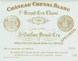 Cjhateau Cheval Blanc St Emilion Grand Cru