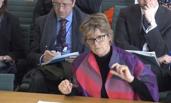 Dame Sally Davies CMO UK Parliamentary Hearing February 2016