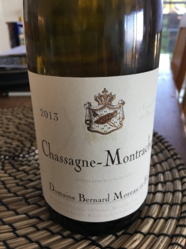Domaine Bernard Moureau et fils Chassagne-Montrachet  2013, Burgundy