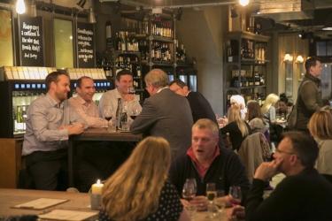 Vagabond wines Charlotte street london