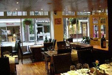 Bacco restaurant Holborn