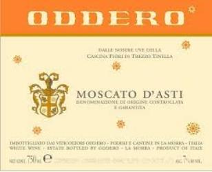 Moscato d'Asti label