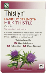 Schwabe Thisilyn Maximum Strength Milk Thistle - Pack of 30 Capsules