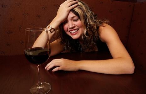 tipsy girl