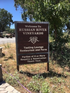 Russian river vineyards restaurant and farm