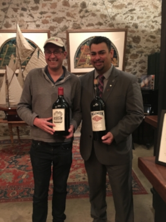 Inglenook winery tasting November 2017