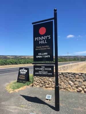Penn'y Hill winery McLAren Vale