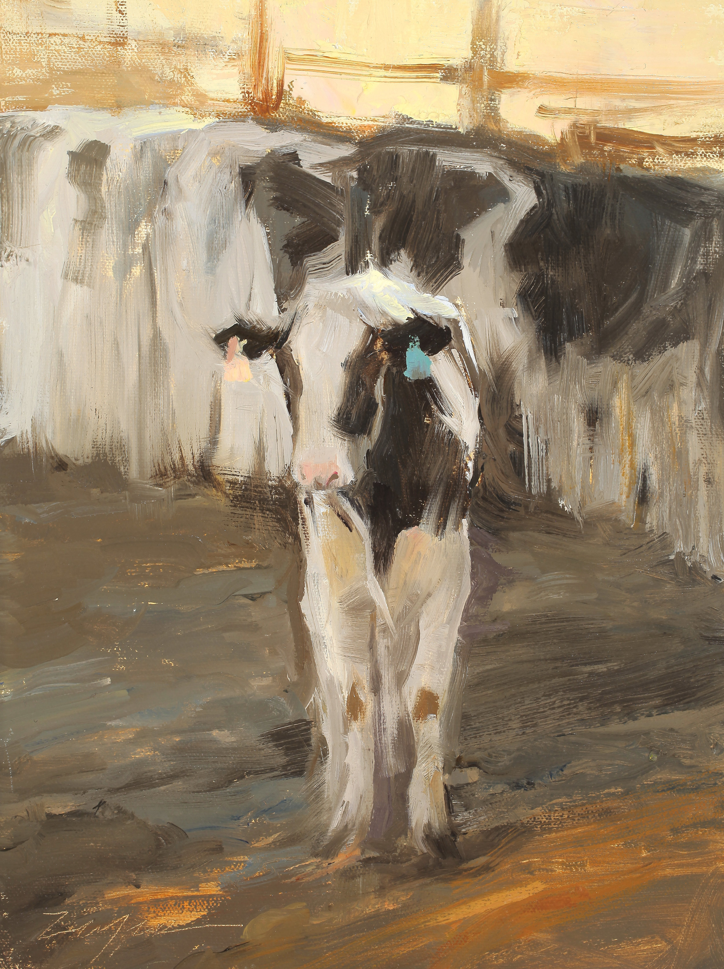 """""""Morning Feed"""" 9x12 Featured in SOUTHWEST ART Magazine March/April 2019. Available through The Relics Gallery, Holladay, UT"""