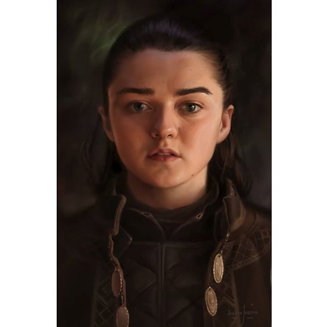 ARYA STARK  While the big finale of game of thrones has come and went I'm still not sure how I feel. Perhaps conflicted.  But what I can say it was one hell of a ride. Looking back at season 1 when everyone is young and alive I can't help but remember how psyched out of my mind I was for a show of this caliber. Every week a new episodes we were losing our minds over what happened. Staying up late in the school labs watching it or huddled around a laptop we made it happen. Good memories.  While I don't think we saw everything Arya deserved in terms of resolution at the end of the series, I feel like she got better than most.  And did you see that dunk?? Ayooo  I'm going to miss you game of thrones 😰