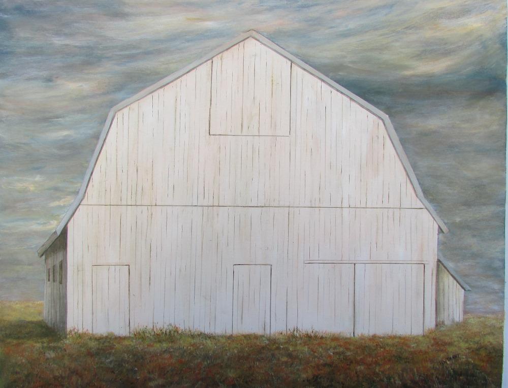 SOLD Gambrell Roof Barn (16-24097)